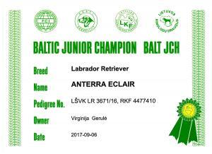 BALT JCH Anterra-Eclair